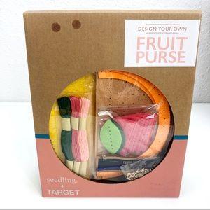 Seedling + Target Design Your Own Fruit Purse Kit